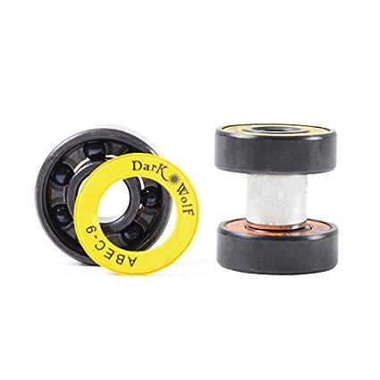 Fancy Skateboard Bearings Titanium Alloy Process Limit Skateboards,8-Pack LOSENKA Professional Skateboard Bearings