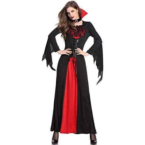 LVLUOYE Cosplay Large Halloween Costume Witch Costume Magic Witch Dress Theme Masquerade Accessories