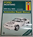 Haynes Ford Mustang 1994 Thru 1998, Haynes, J. H. and Maddox, Robert, 1563923246