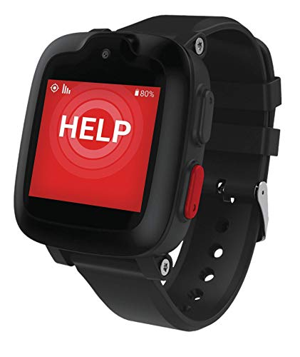 Freedom Guardian Life Saving Medical Alert System by Medical GuardianTM - GPS Location Tracking, Emergency Button, 24/7 Monitoring for Seniors, Nationwide AT&T Cellular Coverage (1 Month Free) (Black)