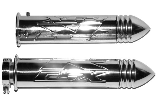 Yana Shiki A3009 Polished Straight Grips with Pointed Ends for Suzuki GSX-R