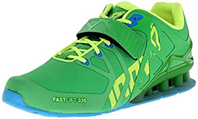 Inov-8 Women's Fastlift 335  Cross-Training Shoe, Green/Lime, 6.5 UK/ 9 W US