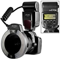 VILTROX JY670N i-TTL Macro LED Ring Flash Speedlite Light Flashgun for Nikon SLR Camera close-up dental/mediacl work