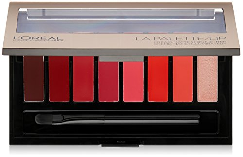 L'Oreal Paris Cosmetics Colour Riche Red La Lipstick Palette, 0.14 Ounce
