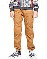 79e2e9548c56 Brooklyn Athletics Boys  Big Twill Jogger Pants Soft Stretch Slim Fit  Trousers