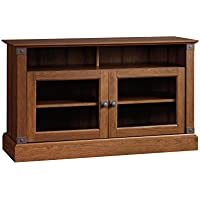 Sauder Carson Forge Panel TV Stand, Washington Cherry Finish