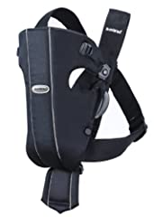 BABYBJORN Baby Carrier Original, a classic baby carrier with a design based on our very first baby carrier model. Small, easy-to-use and perfect for your newborn. A few buckles and some simple adjustments allow you to carry your baby comforta...