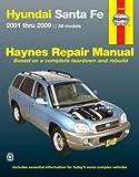 Haynes Manuals 43050 Hyundai Sante Fe (2001-2012)