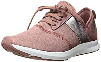 New Balance Women's Nergize V1 FuelCore Cross Trainer, Dark Oxcide/Champagne, 8 B US