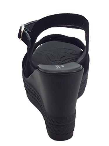 Mercante di Fiori Women's Fashion Sandals Black uJ7LEUrg5