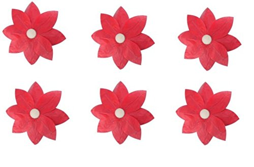 Pack-of-6-Red-Floating-Lotus-Paper-Flower-Outdoor-Patio-Decor-Lanterns