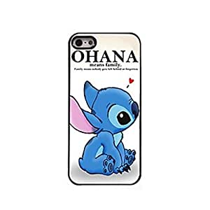BlueKid Lindo pequeño monstruo azul funda (iPhone 6S Plus iPhone 6S iPhone 6 Plus iPhone 6 iPhone 5C iPhone 5/5S iPhone 4/4S )(iPhone 6/4.7,Azul)