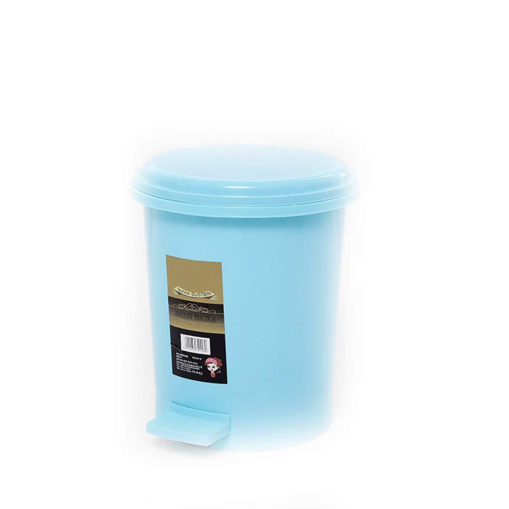 27 32 cm Azul 22 Sangni Bote de Basura pl/ástico Grande Creativo