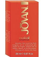 Jovan Musk Oil Eau de Parfum 0.9oz (26ml) Spray