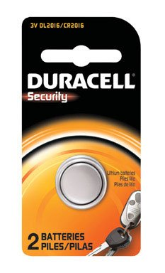Duracell Security 2016 Batteries 2 Count (Watch 2 Battery Pack)