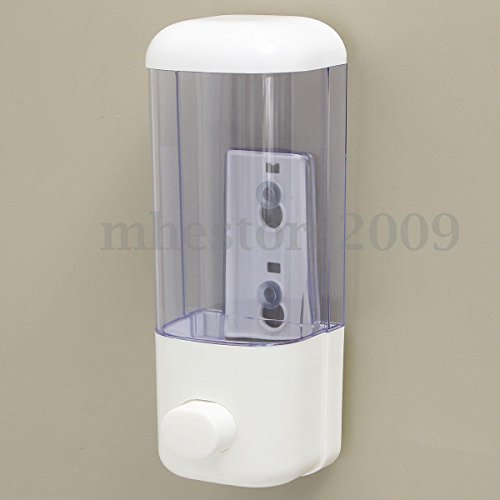 izer Shampoo Bathroom Shower Wall Mount Home Washroom 500ML (Smedbo Wall Mount Soap Dispenser)
