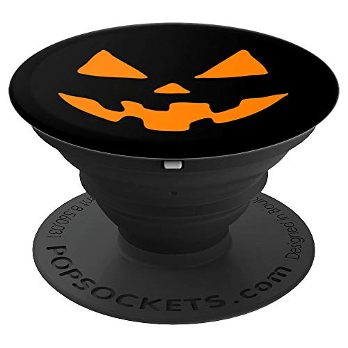 Jack-O-Lantern Pumpkin Halloween Costume - PopSockets Grip and Stand for Phones and Tablets -
