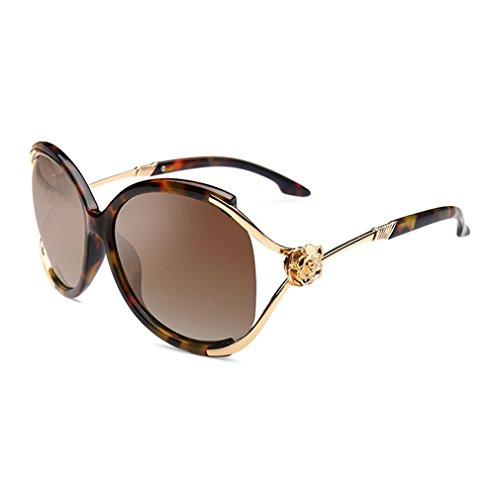 W-Q Womens Fashion Trendy Elegant Unique Design Big Frame Oversize Sunglasses(C5) (Where Can I Buy Cat Eye Contacts)