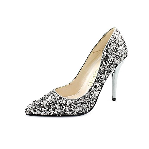 9M Heels RED Shoes 9 Pumps Silver LIVE FROM CARPET Women's Gray Sequin THE vRqFqxw8