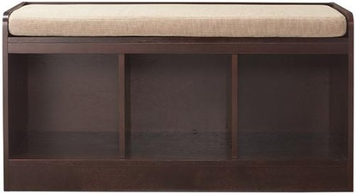 Amazon.com: Wellman Cubby Bench, 20H X 38W X 16D, DARK CHERRY: Home U0026  Kitchen