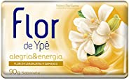 Sabonete em Barra Suave Flor de Alegria e Energia 90G, Ypê, Amarelo