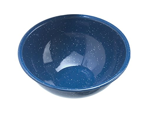 GSI Outdoors Blue Graniteware Mixing/Cereal Bowl, 6 Inch ()