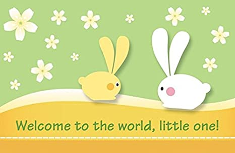 Amazon.com: Postales – Bienvenido al mundo, Little One ...