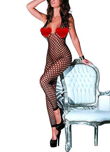Adoreyou Sexy Seamless Tube Bodysuit Mini Dresses Hosiery Chemise Lingerie (96164)