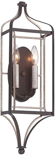 Minka Lavery 4342-593 Two Light Wall (Butler 1 Light Sconce)