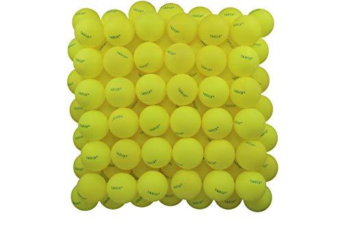 TADICK 100 Packs Yellow Beer Ping Pong Balls Recreational Table Tennis Balls