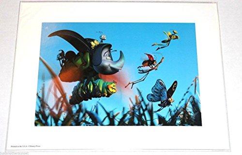 "Disney Lithograph Art Print 11""x14"" A Bug's Life"