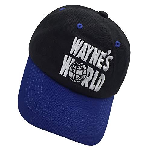 chen guoqiang Wayne s World Embroidered Hat Cap Trucker Unisex Adjustable  Baseball Black Cap a4805cc1f759