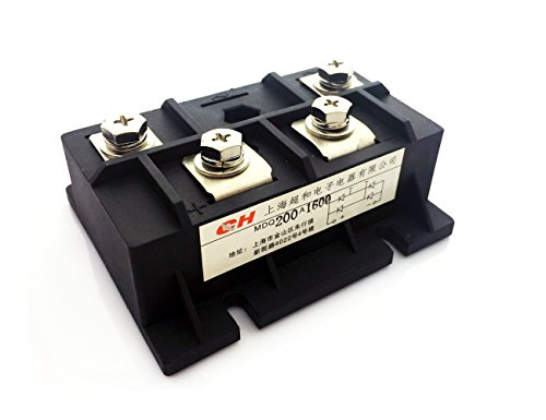 Phase Module - MDQ 200A 1600V Diode Module Single Phase Bridge Rectifier