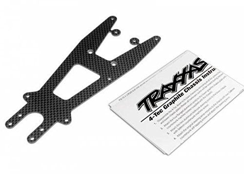 Traxxas TRA4323X Upper chassis plate, graphite