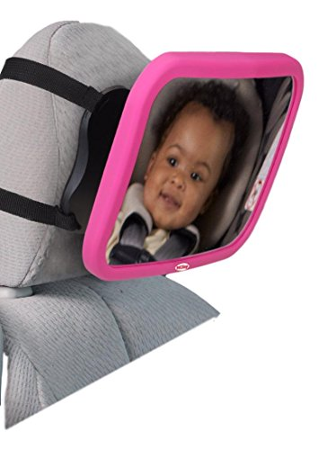 Nuby Back Seat Baby View Mirror, Pink by Nuby (Image #1)