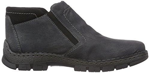Rieker 12281 - botas de caño bajo de material sintético hombre gris - Grau (anthrazit/schwarz / 45)