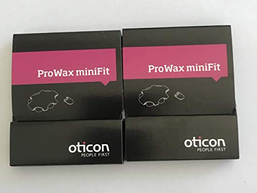 Oticon Prowax Minifit Wax Filters replacements for