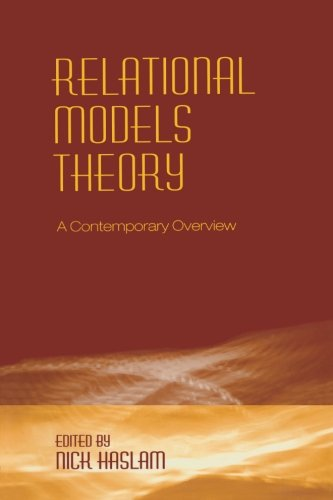 Relational Models Theory: A Contemporary Overview - Relational Model