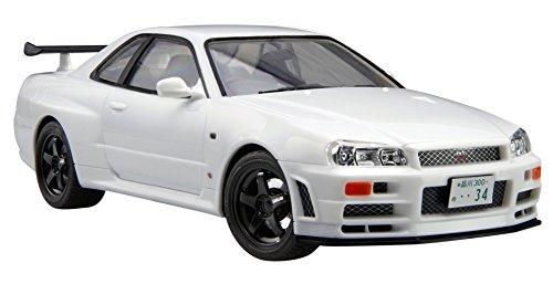フジミ模型 1/24 カーモデルEASYシリーズNo.1 R34スカイライン GT-Rの商品画像