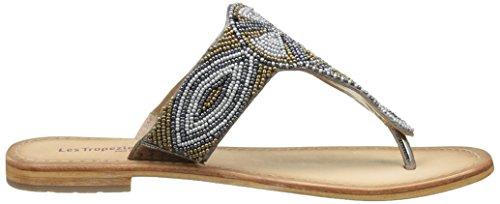 Les Tropéziennes par M. Belarbi Melody, Chancletas Mujer Marrón (Bronze Multi)