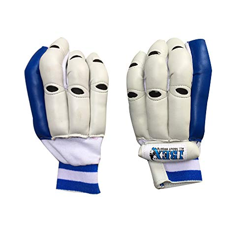 Ibex Basic Batting Gloves Batting Gloves (L, White) Multicolor
