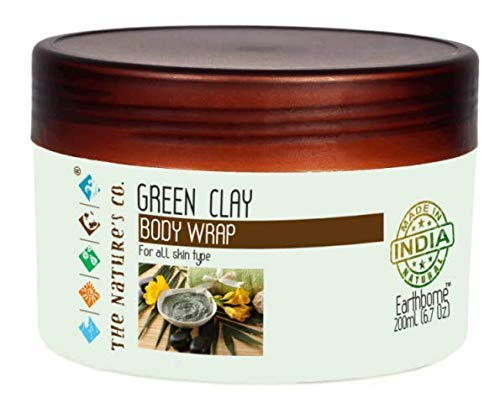 The Nature's Co. Green Clay Body Wrap 200 Ml (6.76 OZ)