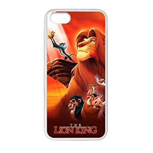 iPhone 5 Case, [lion king] iPhone 5,5s Case Custom Durable Case Cover for iPhone5s case