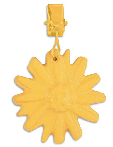 Set of 4 Tablecloth Clips - DAISY or PINEAPPLE Tablecloth Weights for Outdoor Tablecloths With Iron with Spray