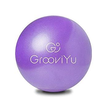 GROOVIYU - Pelota de Ejercicio para Yoga (23 cm, Material ...