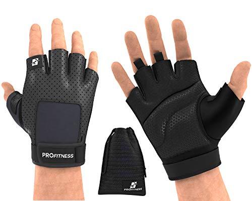 (ProFitness Glove 2 (X-Large, Black/Jet Black))