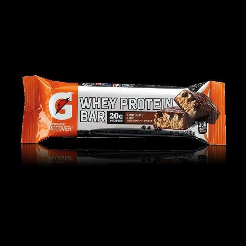 Gatorade сывороточного протеина Восстановление Бары шоколадной стружки 2.8oz (12 шт)