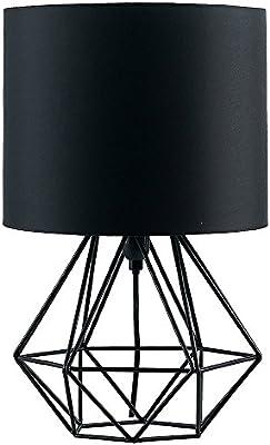MiniSun - Moderna Lámpara de Mesa Negra – Innovadora Base de ...