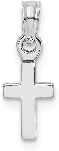 Wholesale 100Pcs Religious Crosses Enamel Medals Charms Pendants Cross 15mm