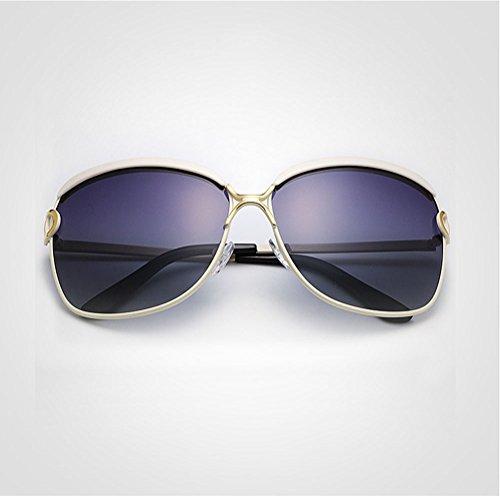Sol De Gafas De La Con Sra White UV Polarizadas Protección HD wpCanZW5qC